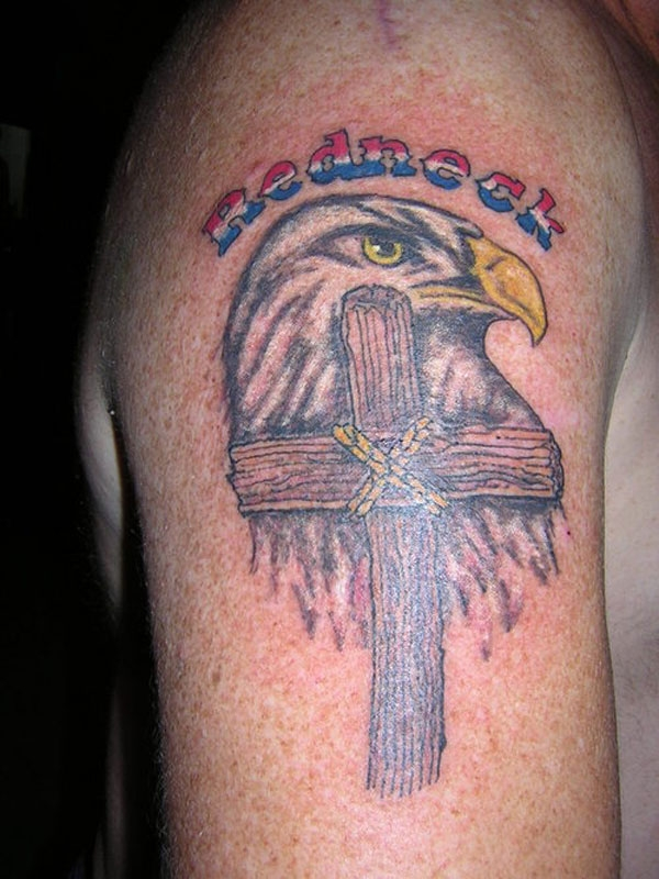 Redneck, Eagle, And A Cross? AMERICA HAS RISEN!